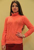 Классика женский свитер под горло Dress code 3011 Одесса