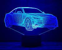 """3D светильник ночник """"Автомобиль 21"""" 3DTOYSLAMP, фото 1"""