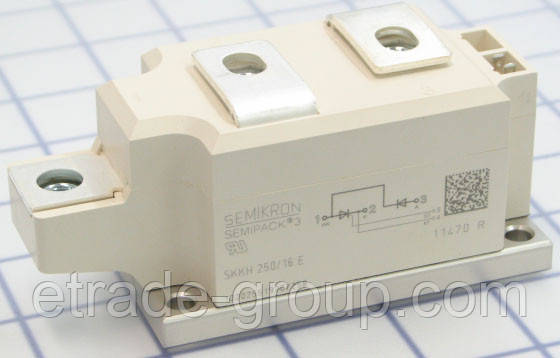 Тиристорно- диодный модуль SKKH 250/16E