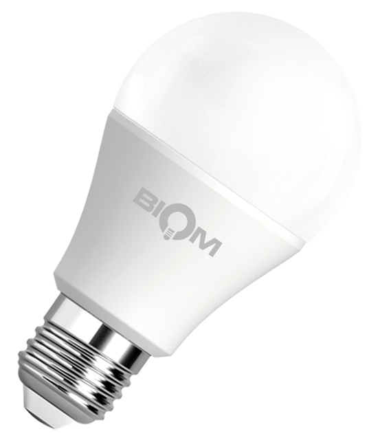 Светодиодная лампа A60 12W E27 4500K яркий свет ВТ-512