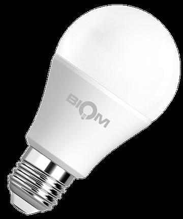 Светодиодная лампа A60 12W E27 4500K яркий свет ВТ-512, фото 2
