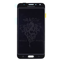 Дисплей Samsung J701 Galaxy J7 2017 с сенсором Черный Black оригинал , GH97-20904A