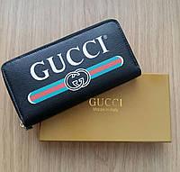 Кошелек Gucci на молнии, фото 1