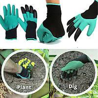 Садовые перчатки Garden Genie Gloves / Джени Гловес