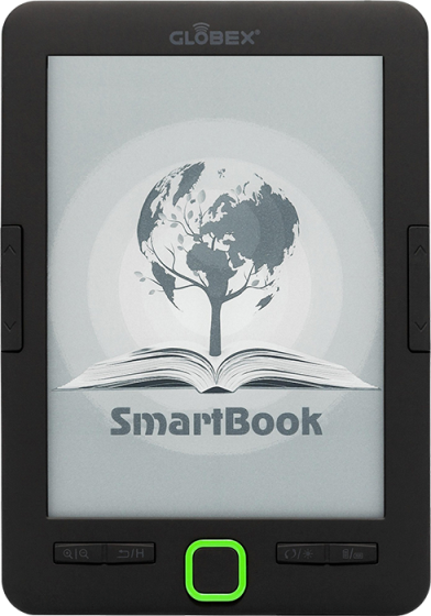 Читалка для книг Globex SmartBook + Чехол, электронная книга, ридер