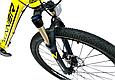 "Горный велосипед WINNER DRIVE 27,5"" Желтый 2018, фото 2"