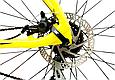 "Горный велосипед WINNER DRIVE 27,5"" Желтый 2018, фото 5"