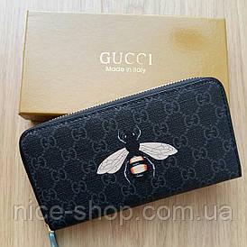 Кошелек Gucci на молнии пчела