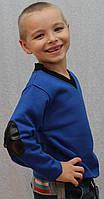 Толстовка для мальчика синяя, фото 1