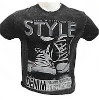 Вареная мужская футболка Style