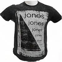 Вареная мужская футболка Jones