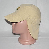 Панамка, кепка-легионерка с пелеринкой на затылке на 2-3 года, 47-50см, фото 1
