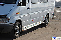 Пороги  Mercedes Sprınter 1995-2006 /кор.база /Ø50