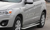 Пороги  Mitsubishi Outlander 2006-2012 /Ø50