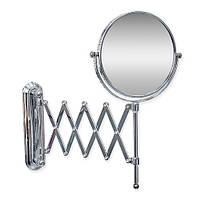 """Зеркало увеличительное настенное пружинное 6"""""""
