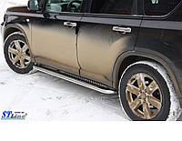 Пороги  Nissan X-Tail 2006- /Ø50