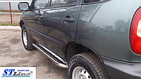 Пороги  Niva Chevrolet c 2006 /Ø50
