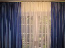 Готовые декоративные шторы из вуали 2шт., фото 2