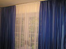 Готовые декоративные шторы из вуали 2шт., фото 3