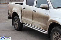 Пороги  Toyota Hilux Vigo 2004- /Ø50