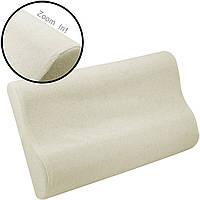 Подушка ортопедическая с памятью « Memory Pillow » (Мэмори Пилоу)