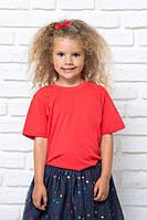 Футболка  детская, 100% хлопок, для девочки, JHK, Испания, выбор цвета, размеры от 3  до 14 лет