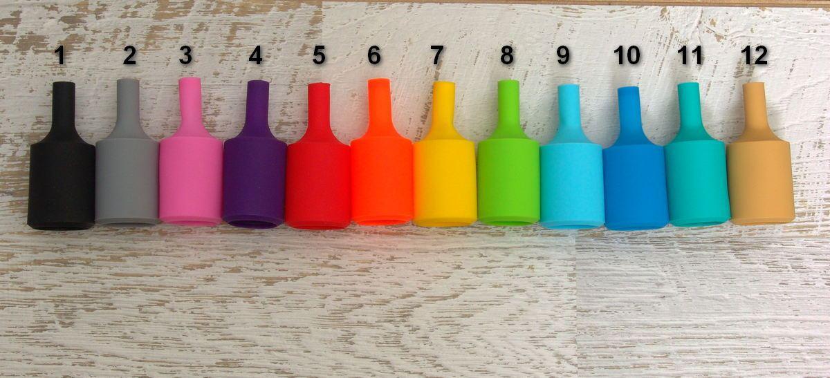 Цветной электрический патрон, распродажа остатков