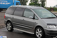 Пороги  Volkswagen Sharan 1995-2010 /Ø50,тип С2