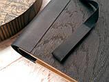 """Деревянная свадебная книга для пожеланий 17*29 см с тонированной обложкой """"Олень"""", фото 3"""