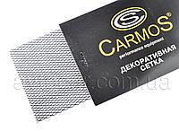 Гриль-сетка декоративная Carmos размер сетки 1*0.2м, размер ячейки, цвет: черный
