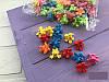 Крабики цветочек цветные маленькие
