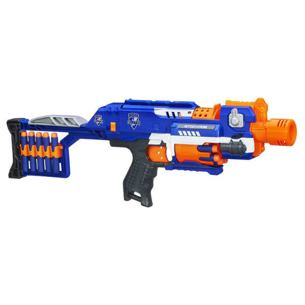 Nerf Бластер Нерф Стокэйд частокол N-Strike Elite Stockade Blaster 98695148