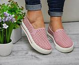 Розовые силиконовые слипоны 36р полномерные, фото 4