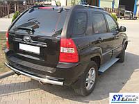 Kia Sportage (04 -10) задняя защита