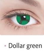 Цветные контактные линзы на 3 месяца Fusion Crazy, Ok Vision (2шт)