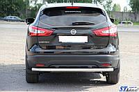 Nissan Qashqai J11 (14+) задняя защита
