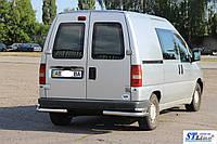 Peugeot Expert (95 - 06) задняя защита углы