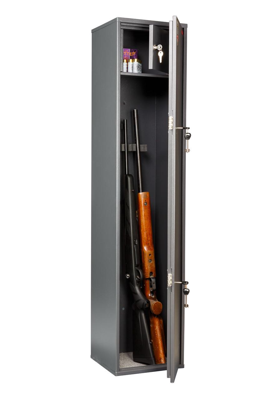 Сейф збройовий СОКІЛ (3 ствола) (ВхШхГ 1385х300х285)