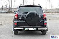 Toyota Rav 4 XA 30 (05-10) задняя защита углы