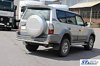 Toyota Land Cruiser Prado 80 (90-97) задняя защита