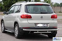 Volkswagen Tiguan I (11-16) задняя защита