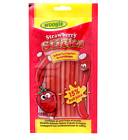 Желейные конфеты Sticks Strawberry клубника Woogie 85 g, фото 1