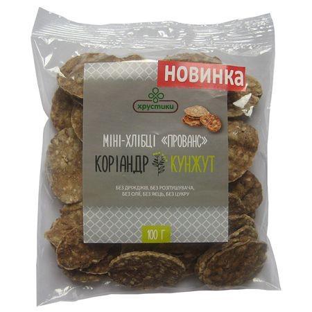 """Зернові хлібці """"Прованс"""", 100 г"""
