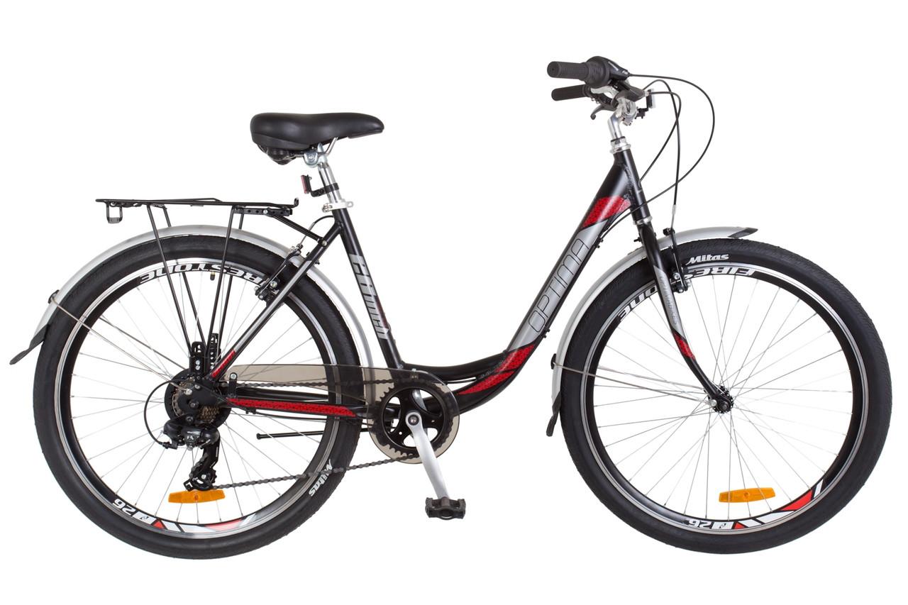 Велосипед женский с багажником 26