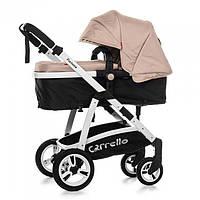 *Коляска детская 2 в 1 Carrello Fortuna Oxford Beige с матрасом CRL-9001
