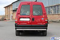 Защита заднего бампера  Fiat Scudo с 1998…  /ровная