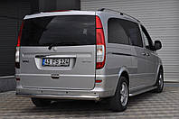 Защита заднего бампера  Mercedes Vito с 2003… /ровная
