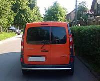 Защита заднего бампера Renault Kangoo с 2010… /ровная