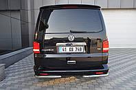 Защита заднего бампера Volkswagen  T-5   /углы