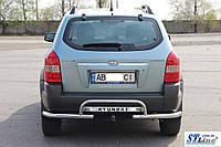 Hyundai Tucson (04 - 10) задняя защита